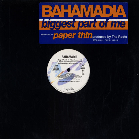 Bahamadia - Biggest Part Of Me