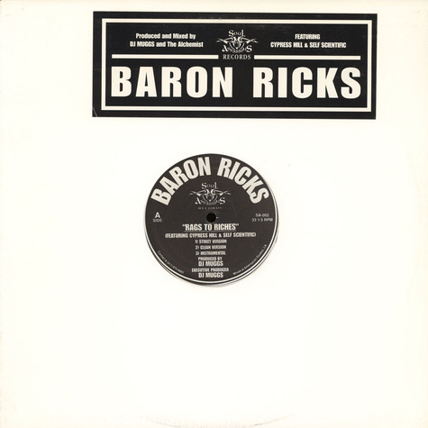 Barron Ricks - Rags To Riches