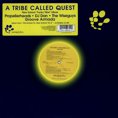 A Tribe Called Quest - New School Funky Tribe Mixes