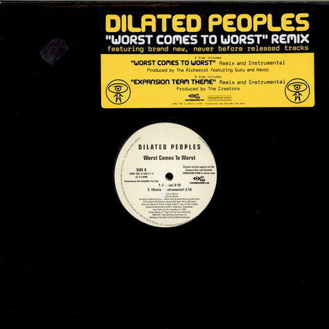Dilated Peoples - Worst Comes To Worst (Remix)