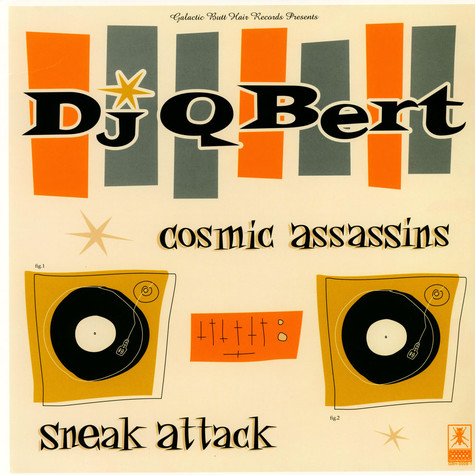 DJ Q Bert - Cosmic Assassins