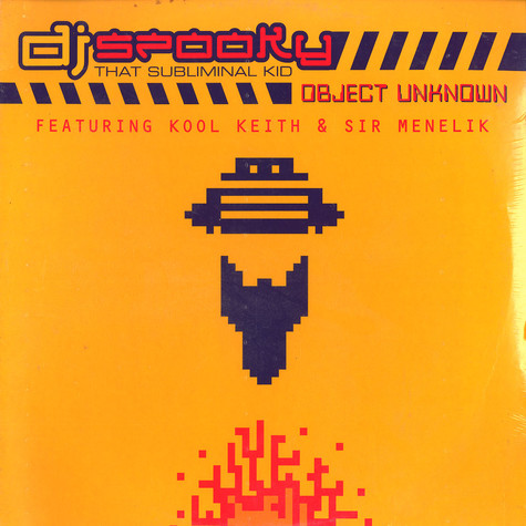 DJ Spooky - Object Unknown