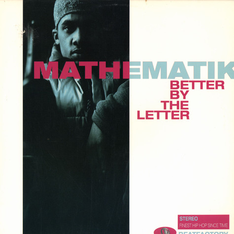 Mathematik - Better By The Letter