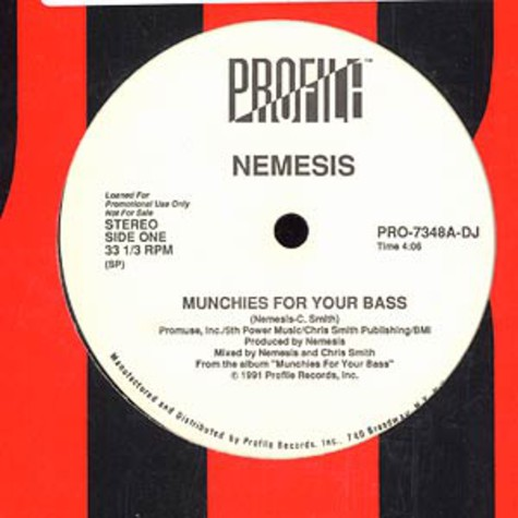 Nemesis - Munchies For Your Bass