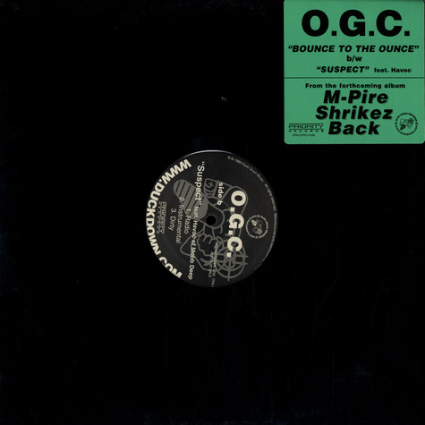OGC (Originoo Gunn Clappaz) - Bounce to the ounce