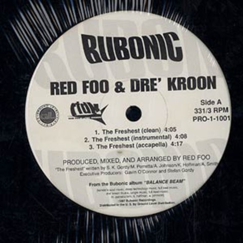 Red Foo & Dre'Kroon - The freshest