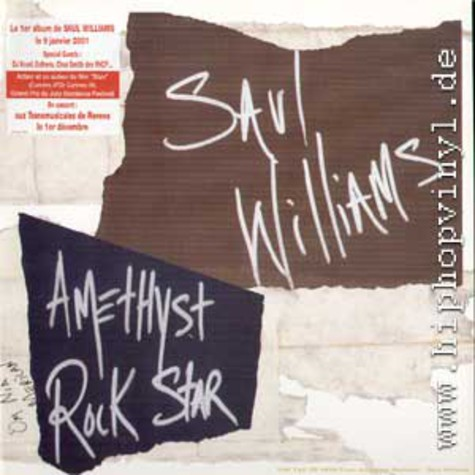 Saul Williams - Amethyst rockstar