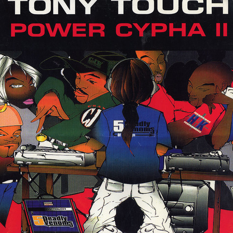 Tony Touch - Power cypha II