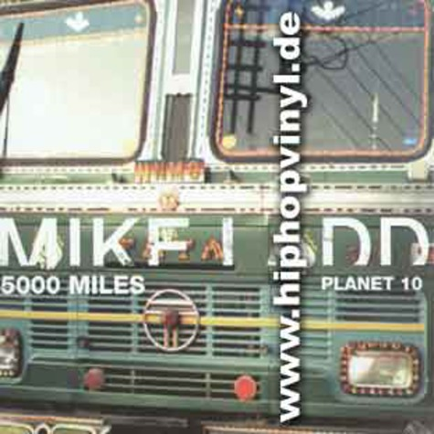 Mike Ladd - 5000 Miles / Planet 10