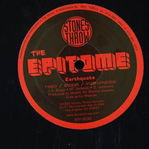 Epitome, The (Oh No & Sauna) - Maximum Adrenaline