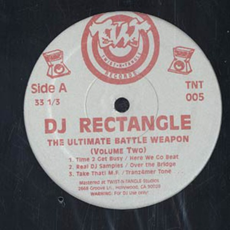 DJ Rectangle - Ultimate battle weapon volume 2