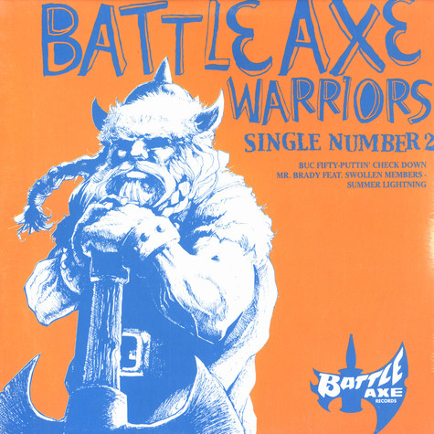Battle Axe Warriors - Single number two