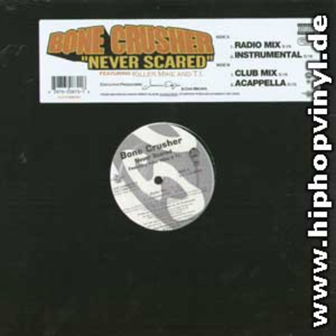 Bone Crusher - Never scared feat. Killer Mike
