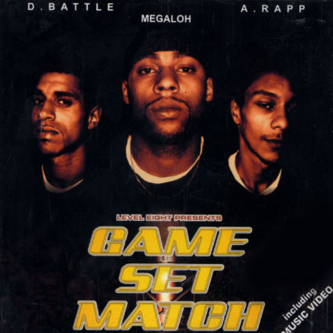 D Battle, Megaloh, A Rapp - Game set match