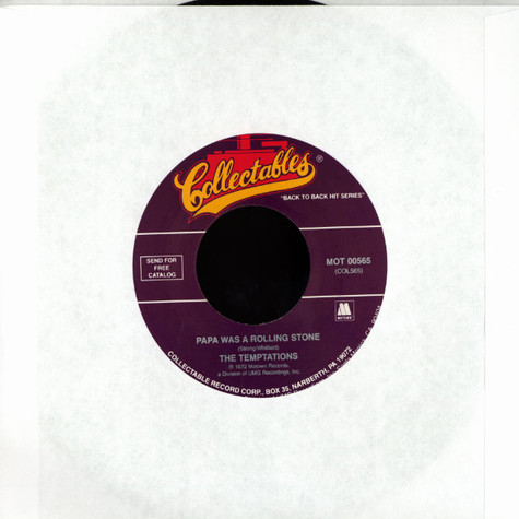 Temptations - Papa was a rolling stone
