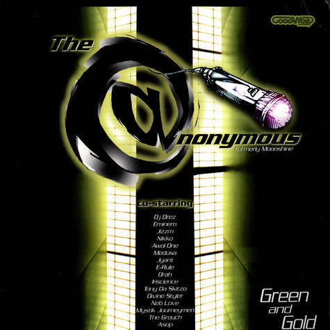 Anonymous - Green & Gold EP