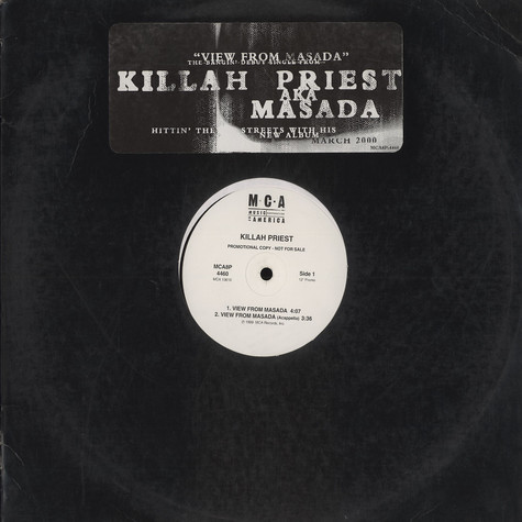 Killah Priest - View from masada