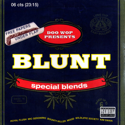 Blunt Records presents - Special blends