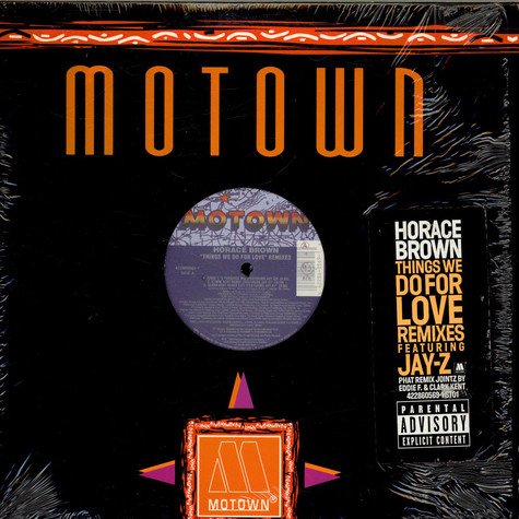 Horace Brown - Things We Do For Love Remixes Featuring Jay-Z