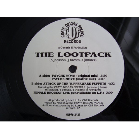 Lootpack - Psyche Move