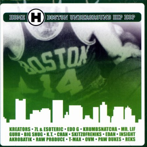V.A. - Home - Boston Underground Hip Hop