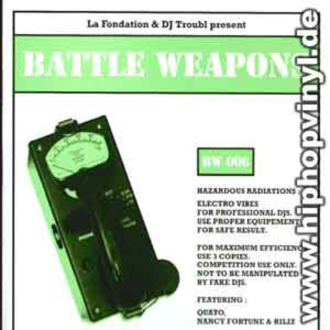 La Fondation & DJ Troubl - Battle weapons vol.6