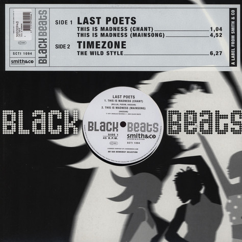 Last Poets / Time Zone - This is madness / the wild style