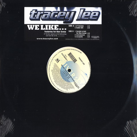 Tracey Lee - We like feat. Fat Man Scoop