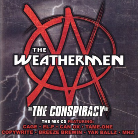 Weathermen - Conspiracy mix cd