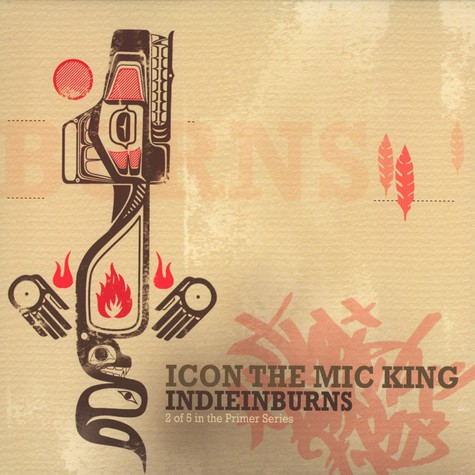 Icon The Mic King - IndieInBurns feat. C-Rayz Walz