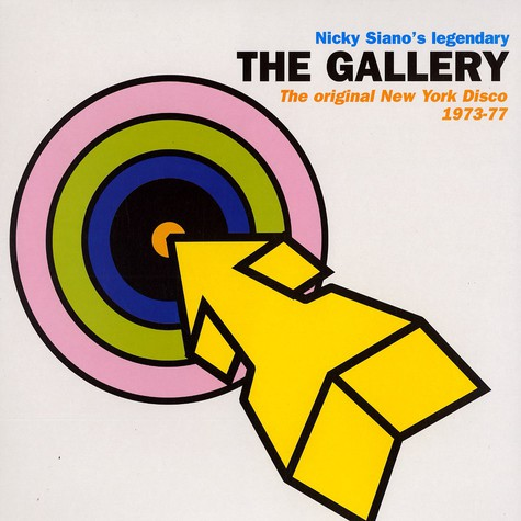 Nicky Siano - The gallery - original new york disco 1973-77
