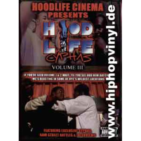 Hoodlife Cinema presents: - Hoodlife cyphas vol.3