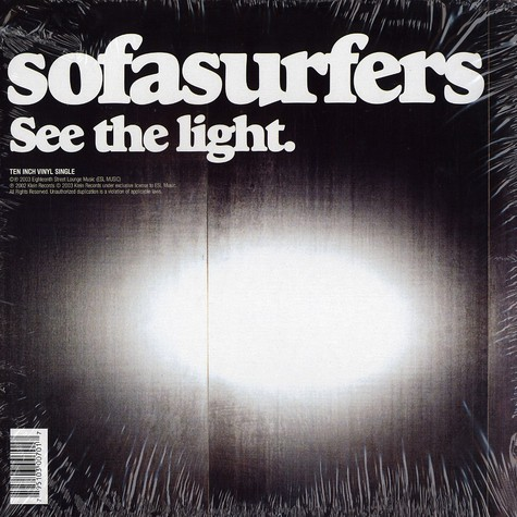 Sofa Surfers - See the light