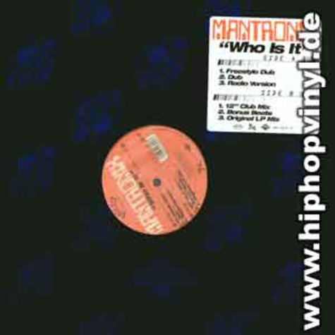 Mantronix - Who is it