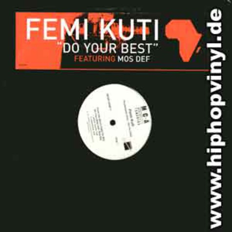 Femi Kuti - Do your best feat. Mos Def