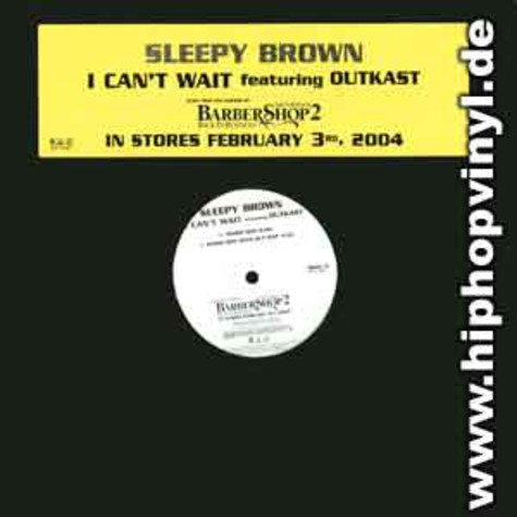 Sleepy Brown - I can't wait feat. Outkast