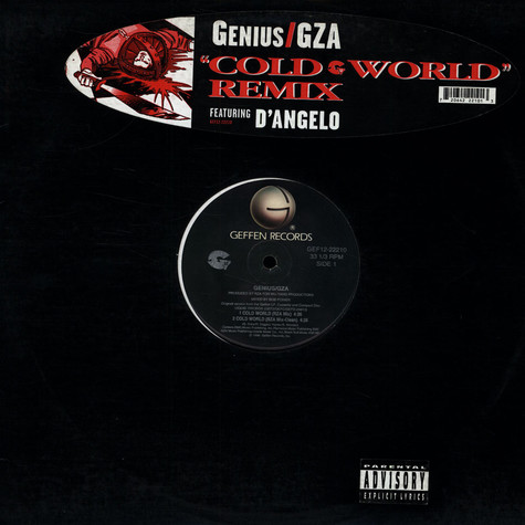 GZA Featuring D'Angelo - Cold World (Remix)