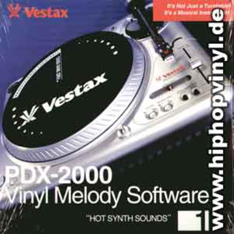 Vestax Vinyl Melody Software - Hot synth sounds