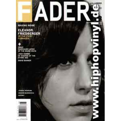 Fader Mag - March 2005