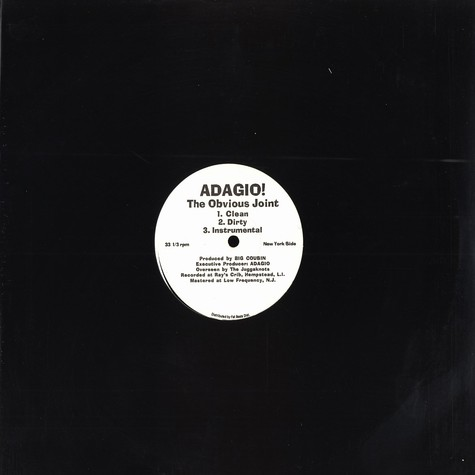 Adagio - The Obvious Joint
