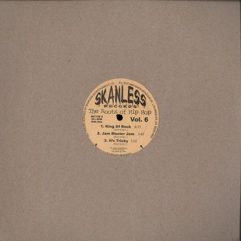 Skanless - The Roots Of Hip Hop - Volume 6
