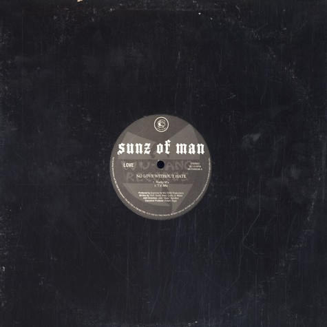 Sunz Of Man - No Love Without Hate