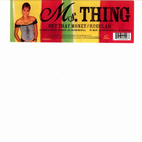 Ms.Thing - Get that money