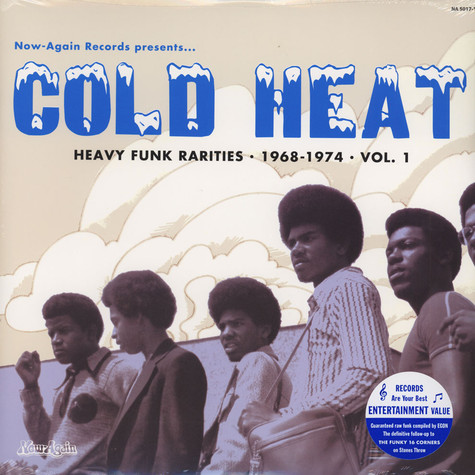 V.A. - Cold Heat: Heavy Funk Rarities 1968-1974 Volume 1