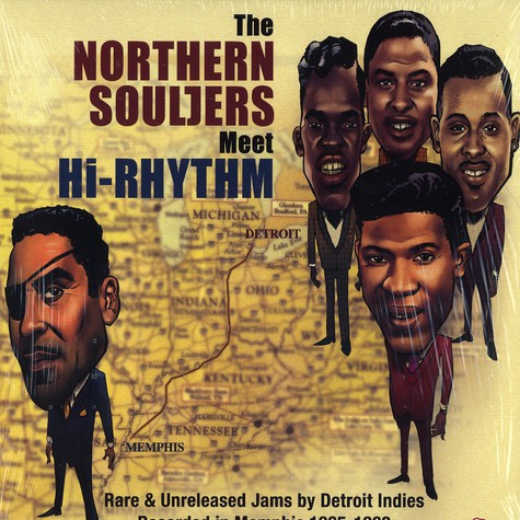 Northern Souljers meet Hi-Rhythm - Northern souljers meet hi-rhythm