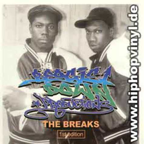 Boogie Down Productions - The breaks 1st edition