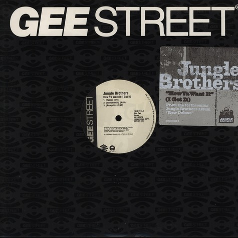 Jungle Brothers - How ya want it