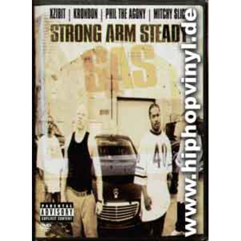 Xzibit, Krondon, Phil The Agony & Mitchy Slick - Strong arm steady
