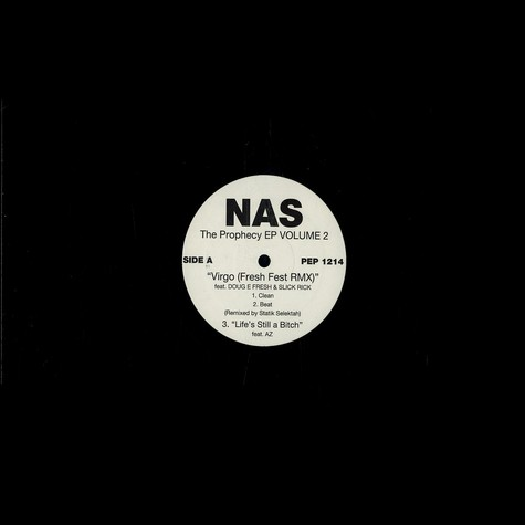 Nas - The prophecy EP vol.2