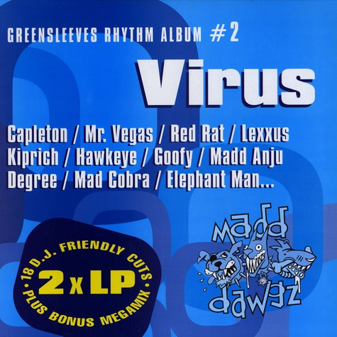 Greensleeves Rhythm Album #02 - Virus